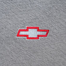 Chevy Bowtie Logo - Gray Custom Fit Carpet Floor Mats 4 pc - All Mats get Logo