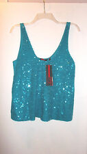 SOFIA VERGARA SEQUIN SWING TANK NWT MISSES MEDIUM