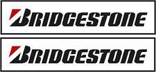 Bridgestone stickers/decals X2 150mm X 20 Mm