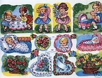 # GLANZBILDER  # Reprint alter WS Bilder 2 x Aschenputtel EF  7253 und 7254