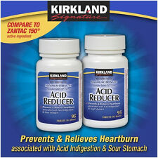 Kirkland Acid Reducer Max Strength Ranitidine 150mg, Heartburn Relief 190 tablet