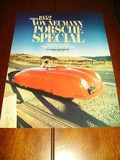 1952 VON NEUMAN PORSCHE SPECIAL ***ORIGINAL 1990 ARTICLE***