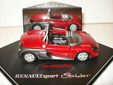 Used-speed renault sport spider red to 1/43 °