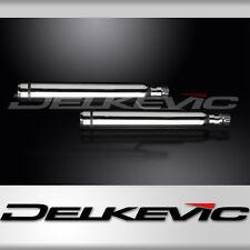 """Honda VTX1800 21"""" Stainless Bull Nose Tip Cruiser Muffler Exhaust 05 06 07 08"""