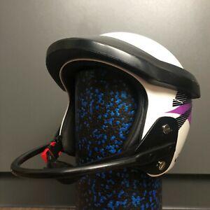 JOFA Helmet Vintage professional race Ski Helmet chin guard White Made in Sweden