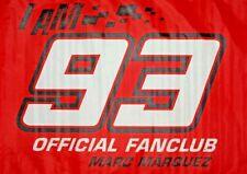 MARC MARQUEZ OFFICIAL FANCLUB #93 FLAG MotoGP 2018