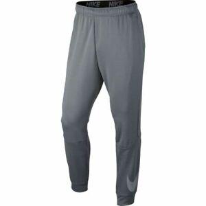 Nike Men's Training Pants Dri-FIT Fleece Training Pants 860373 071 Grey Charcoal