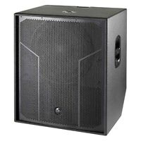 """DAS ACTION-S118A Action 500 Series 18"""" 3200W Active Horn-Bass Subwoofer"""