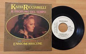 """ORIGINAL 7"""" OST MORRICONE KATIA RICCIARELLI AMEDEO MINGHI IL PROFUMO DEL TEMPO"""