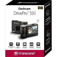 Transcend DrivePro 550 coche grabadora de video, Tablero De Doble Cámara Wi-Fi incorporado