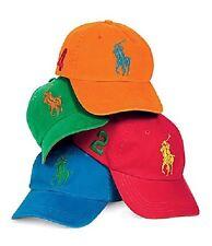 BRAND NEW Ralph Lauren Big Pony Baseball Cap - CHOOSE YOUR COLOR