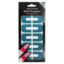 Peel Off Nail Art Tips Tape Palisade Cuticle Sticker Polish Hedge Base Coat cn