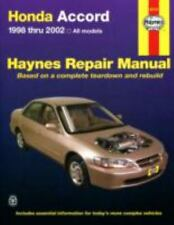 Honda Accord Automotive Repair Manual: 1998 Thru 2002 (Paperback or Softback)