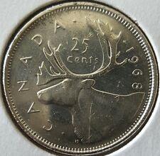 1939 Canada Quarter .500 Silver Coin Elizabeth II Caribou 25 Cents KM#62a