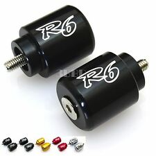 Z10 Racing YAMAHA YZF R6 06 07 08 09 10 11 12 13 14 15 16 CNC Bar Ends BLACK