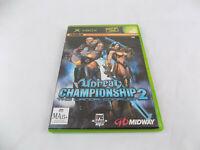 Mint Disc Xbox Original Unreal Championship 2 The Liandri Works on Xbox 360