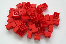 50 blocchi di costruzione LEGO 2x2 rosso nuovo motivo pietre Basic pietre 3003