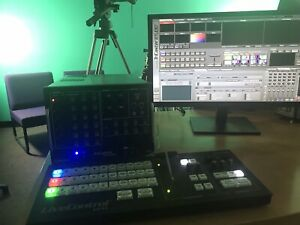 NewTek TriCaster TC350 Broadcast Production Studio & LC-11 Surface Controller