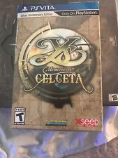 Ys: Memories of Celceta -- Silver Anniversary Edition (Sony PlayStation Vita,...