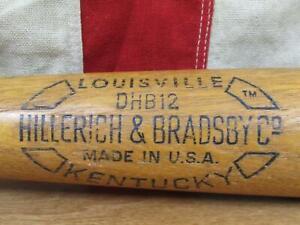 """Vintage Hillerich & Bradsby Wood 'Safe Hit' Baseball Bat Pete Rose Model 34"""""""