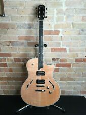 MINT Taylor T3 Quilted Maple Natural Semi-Hollow Body 2017 Elec. Guitar w/Case