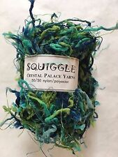 Crystal Palace Yarns Squiggle #9291 Seven Seas - Turquoise Blue Green - 50g 100y