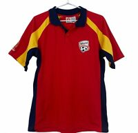 Adelaide United A-League Mens Official Licensed Short Sleeve Polo Shirt Size S