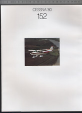 (192) Catalogue brochure Aircraft Cessna '80 152