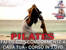Corso Di Pilates (3DVD) Base Medio Avanzato Impara da Zero il Pilates da casa
