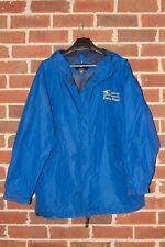 ☆☆CLUB CAR LOGO Size XLARGE Blue Zipper & Snap Front PORT AUTHORITY Raincoat☆☆