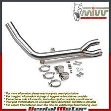 Tubo Elimina Kat MIVV Decat Acciaio inox per Honda Xlv Transalp 700 2008 > 2013