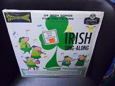 Irish Sing-Along LP London EX - no lyric sheet - in shrink wrap