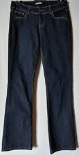 "WOMEN'S JEANS HOT OPTIONS BOOTCUT STRETCH SIZE 12 LEG 32"" LIKE NEW FREE POSTAGE"
