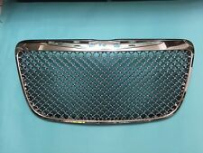 Front Hood Grille Chrome Mesh Bentley Style For '2011-'2014 Chrysler 300/300C