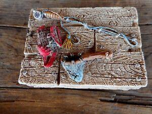 Resin Fishing Trinket box Cabin Lodge Home Decor Don Mechanic Enterprise