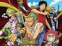 "Wall Scroll One Piece New Straw Hat Pirates Funimation USA Seller 33"" x 44"""
