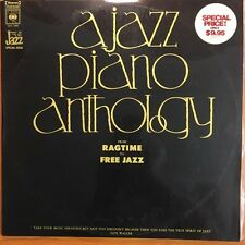 A JAZZ PIANO ANTHOLOGY - from ragtime to free jazz 2LP DOUBLE VINYL LP Record