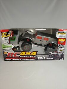 New Bright 1:12 Scale R/C Fab Fours Legends Truck, Silver Brand New 2.4GHz