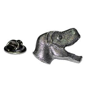 Dinosaur T Rex Head Pewter Lapel Pin Badge XWTP003