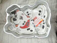 Vintage Wilton Cake Bake Oven Pan Disney 101 Dalmatians Dog Puppy Birthday Party