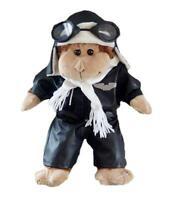 """PILOT AVIATOR & HELMET ,GOGGLES FOR 16""""/40cm TEDDY BEARS & BUILD YOUR OWN BEAR"""