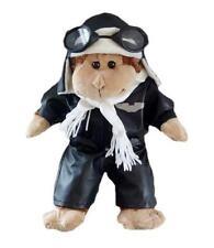 "PILOT AVIATOR OUTFIT W/ HELMET & GOGGLES CLOTHES FITS 14-16"" (40CM) BUILD A BEAR"