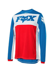 Fox Head Cycling Indicator Long Sleeve Wide Open Jersey [Nvy/Rd] Size XL