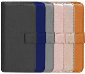 PU Leather Flip Wallet Cover Case For iphone 12 11 10 8 7 6 5 4
