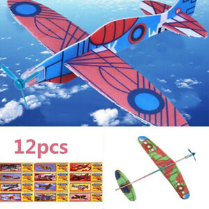 DIY Hand Launch Throwing Glider Aircraft Foam EPP Airplane Plane Model Toy Fine