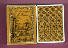 SEALD Deck GRIMAUD Playing Cards FRENCH CHEESES COW GOAT SHEEP WIDE 1981 VINTAGE