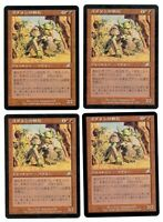 4x Goblin Warchief - JAPANESE ASIAN - Scourge - MTG Magic The Gathering