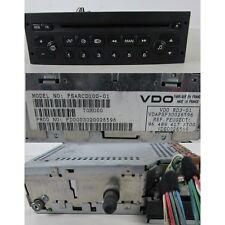 Autoradio CD 96489417  Peugeot 307 Mk1 2001-2005 usato (22276 20M-1-D-3)