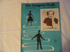 The Longest Walk, Featured by Jay P Morgan, Sheet Music