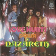 """7"""" NAZARETH - Love Hurts / Down >> SUPER UNGESPIELT MINT <<"""